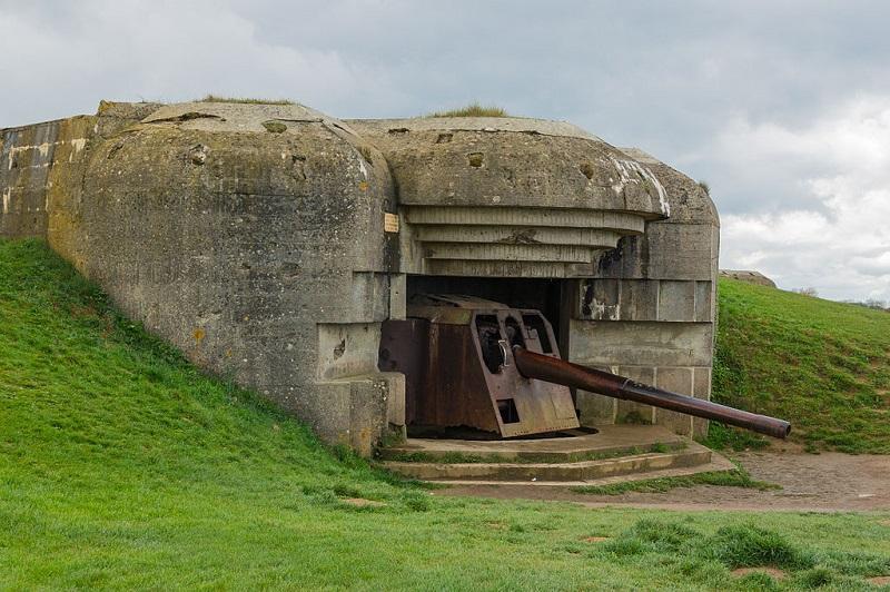 Artillerie Batterie in Longues sur Mer